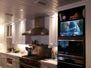 Kitchen-LED-flatscreen